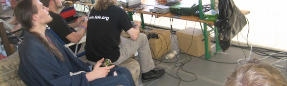 Gaming Pictures from Awesome Retro on Hx2 at CCC